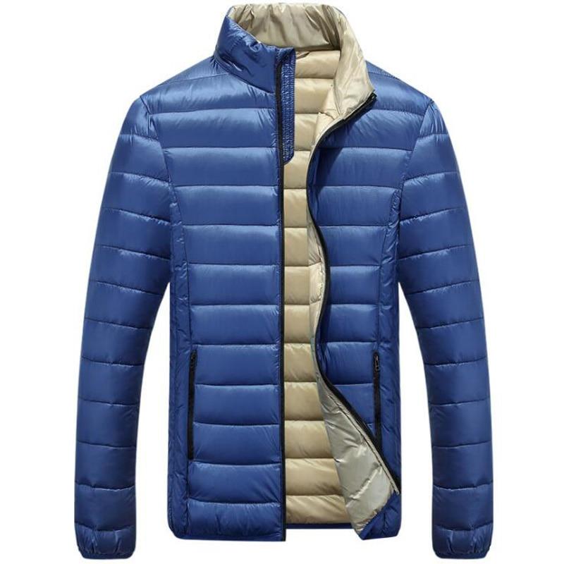 mens lightweight down jacket page 1 - fleece