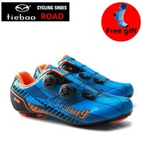 TIEBAO carbon cycling road shoes original superstar Self Locking athletic shoes zapatilla new sapatilha ciclismo sneakers