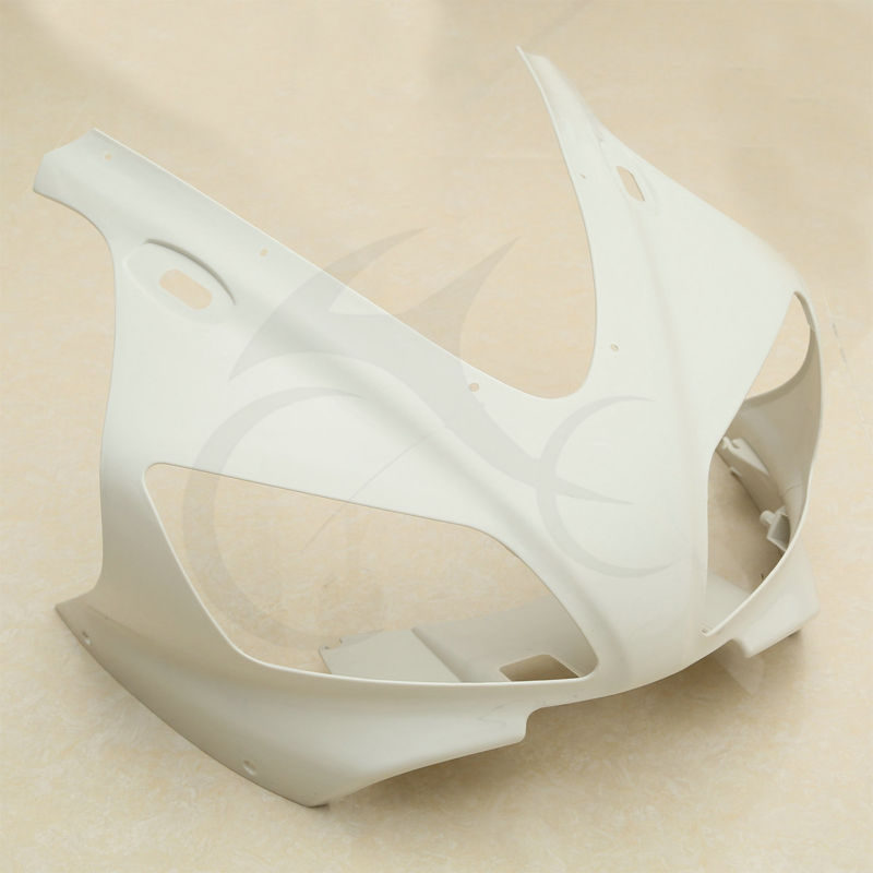 цены UNPAINTED UPPER FRONT FAIRING COWL NOSE FOR YAMAHA YZF 1000 R1 YZFR1 1998-1999