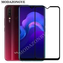 VIVO Y15 Glass VIVO Y12 Screen Protector Full Cover Tempered Glass For VIVO Y15 Y12 Y17 1902 Y 15 12 17 VIVOY15 2019
