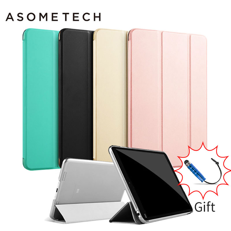 For Xiaomi Mipad 2 Cover Case Ultra thin Original Smart Stand Cover With Automatic Sleep Wake-Up for Xiaomi Mi Pad 3 mi pad 1/2 7 9 hot sale fashion tablet cover case for xiaomi mi pad 1 slim flip bracket pu sleeve for mipad 2 auto wake sleep feb14