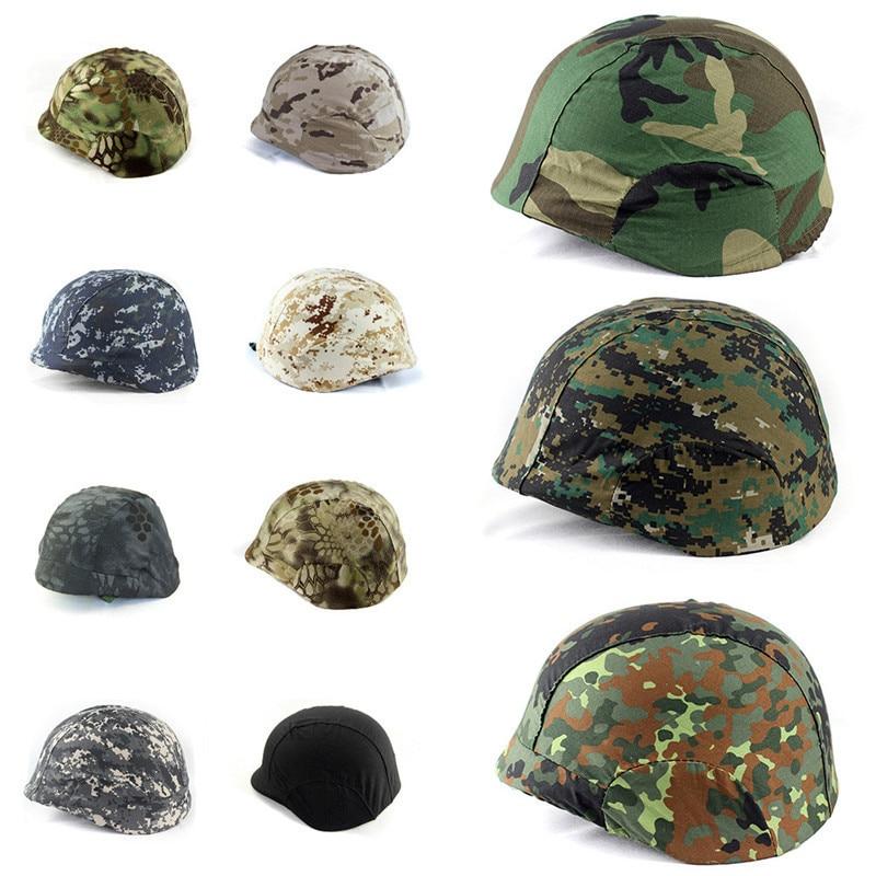 Хлопковая Военная Тактическая камуфляжная Крышка для шлема M88 PASGT Kelver Swat, мужской охотничий шлем, защитный чехол, аксессуар