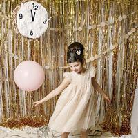 1M 2M Metallic Foil Photo Booth Props Backdrop New Photobooth For Wedding Decoration Birthday Party Event