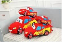 2016 new child anime model Pixar car plush toy 25cm plush toy car baby child gift free door