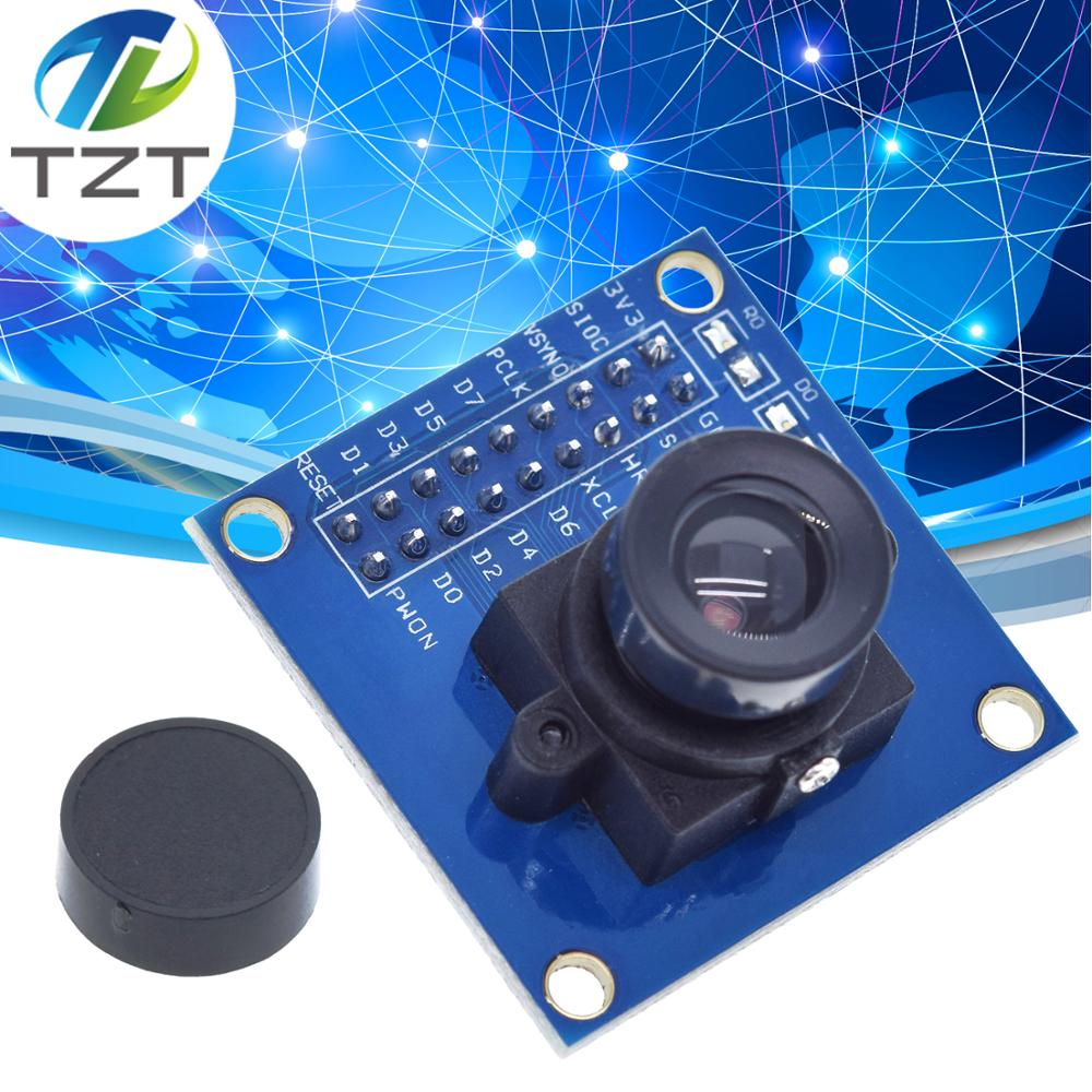 OV7670 Camera Module OV7670 Module Supports VGA CIF Auto Exposure Control Display Active Size 640X480 For Arduino