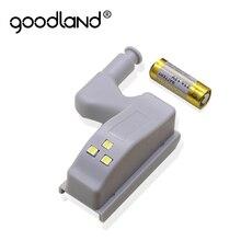 Include Battery LED Hinge Light Cabinet Sensor Night Light Lamp For Kitchen Living Room Bedroom Wardrobe