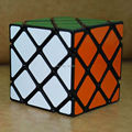 Nuevo Y Extraño de Forma Rompecabezas LanLan 8-Axis Maestro Skewb Cubo Mágico 56mm Velocidad Torcedura Square Cubo Mágico Educación Aprendizaje Juguete del juego