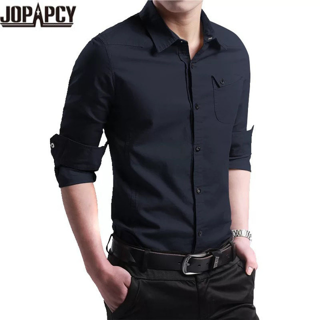 2017 Новый Мужчины Рубашка Мужской Рубашки мужской Моды Случайные Длинные Рукава Бизнес Формальные блузка camisa социальной masculina MXB0373