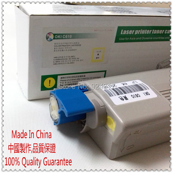 Refill Toner For OKI C610 Color Laser Printer,Use For Okidata 44315304/03/02/01 For OKI Toner C610 Printer, For Oki C 610 Toner tpohm cx2032 laser color toner powder for okidata oki 43324477 cx2032mfp cx2032 cx 2032 1kg bag color free shipping by fedex