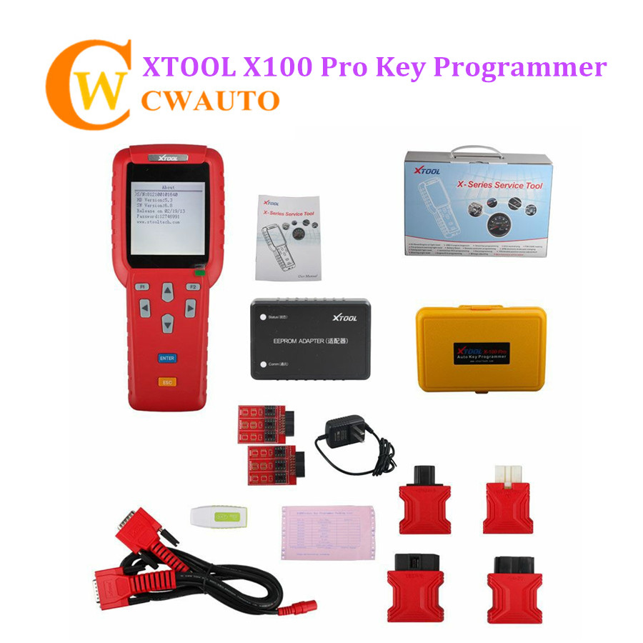 Original Xtool X100 Pro Car Key Programemr with EEPROM Adapter Support Almost Cars Update OnlineOriginal Xtool X100 Pro Car Key Programemr with EEPROM Adapter Support Almost Cars Update Online