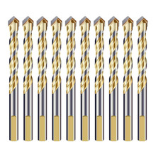 Multi-Material Drill Bit Set for Tile Wall Mirror and Ceramic Tile on Concrete and Brick Wall