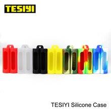 Фабрика 18650 Tesiyi силиконовый чехол для защитный чехол для батареи для 2*18650 батареи легко носить оптом 50 шт силиконовый чехол