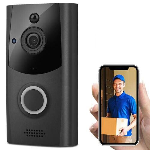 Беспроводной смарт дверной звонок ИК для камеры наблюдения Wi Fi дверные звонки удаленного домофон