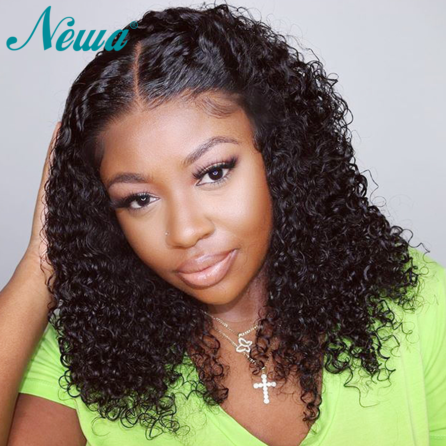 Newa Hair 360 Lace Frontal Wigs For Black Women Brazilian Lace Front Human Hair Wigs Pre