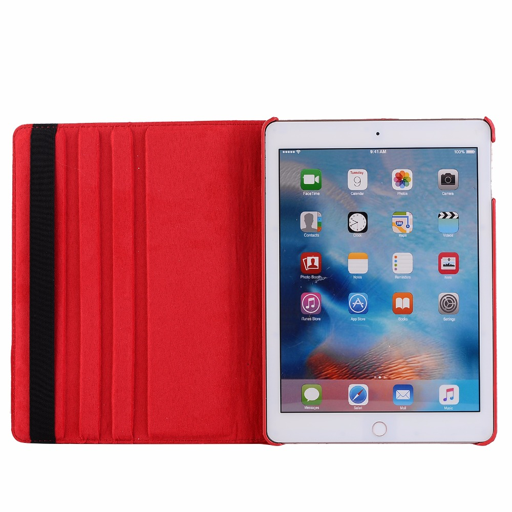 360 Degree Rotating Leather Smart Cover Case For Apple Ipad 9.7 2017 A1822 A1823 A1893 A1954 5Th 6Th 5 6 Generation Funda