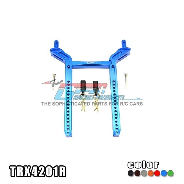 TRAXXAS TRX-4 TRX4 82056-4 Rear shell columm for RC car aluminium alloy adjustable stable non deformation - set TRX4201R