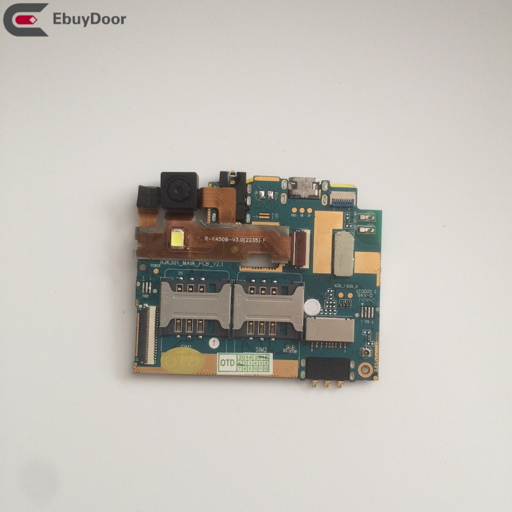 Used Mainboard512MB RAM+16G ROM Motherboard For Leagoo Lead 3 MTK6582 Quad Core 4.5 Inch 960*540 Free Shipping