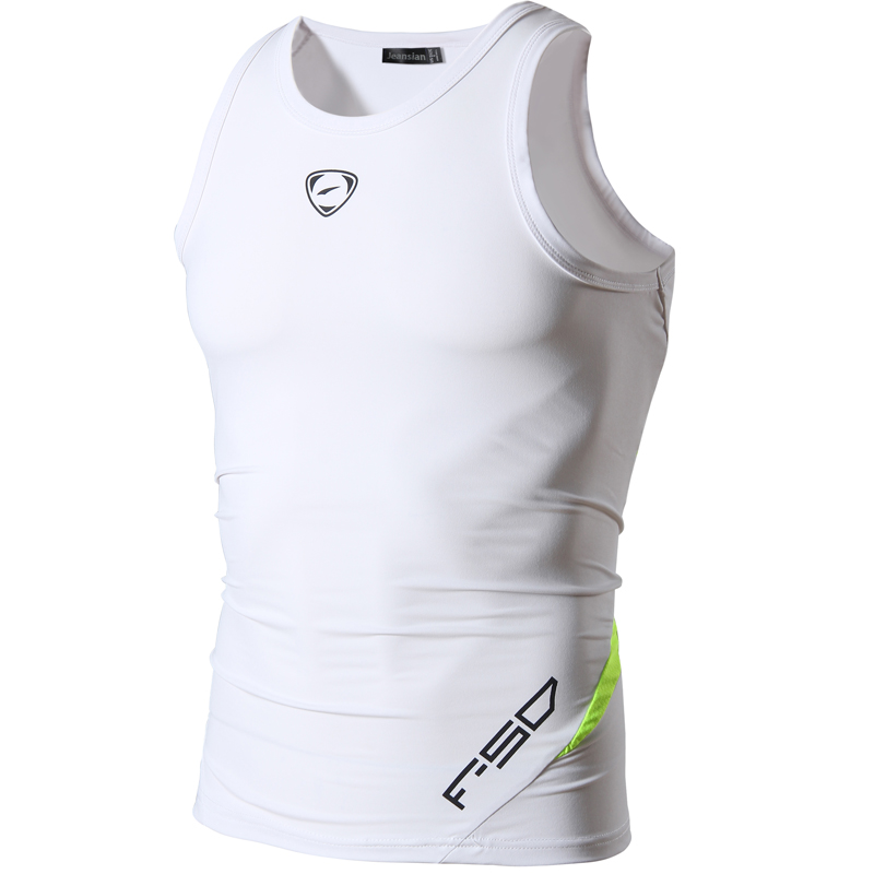 jeansian Men's Quick Dry Slim Fit Sleeveless Sport Tank Tops Shirts Workout Running LSL3306(PLEASE CHOOSE USA SIZE)