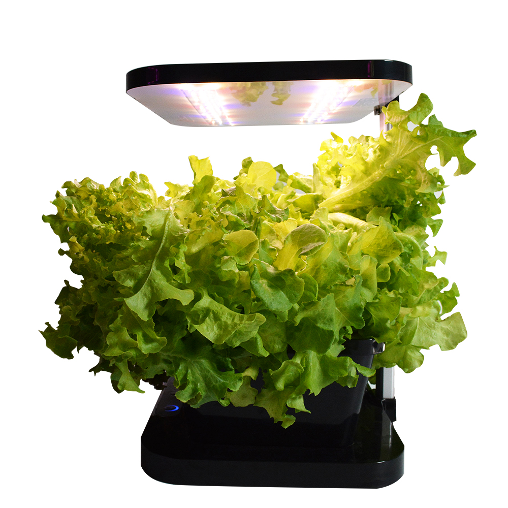 Lighting for indoor plants - Led Indoor Desktop Hydroponic Indoor Plant Grow Light Lamp Panel Ac 220v 27w Greenhouse Lighting Soil