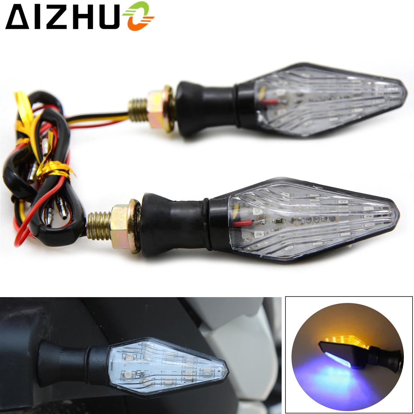 12V Motorcycle Turn Signal Light LED Lamp Blinker For kawasaki ER6N ER6F Z650 Z750 Z800 Z900 Z1000SX Ninja 650 650R Z 800 900