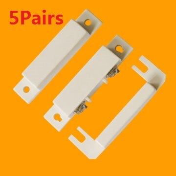 BS-31 проводной дверной/оконный Магнитный контактный датчик безопасности магнитный переключатель пластиковый открывающийся дверной магнит...