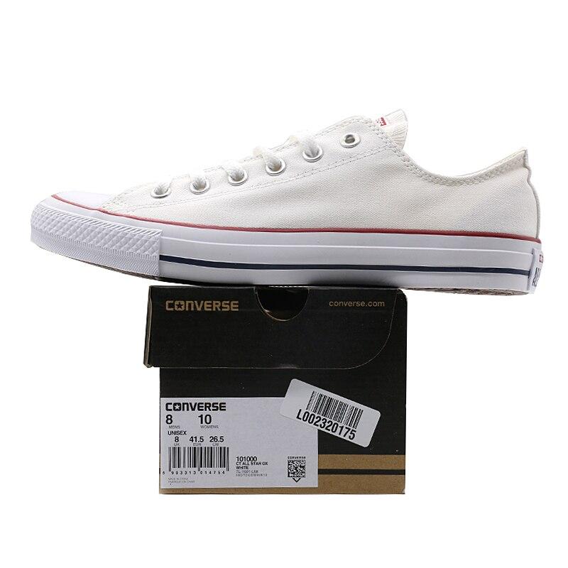 Nouveau Original Converse all star chaussures en toile pour hommes et femmes baskets mode classique Chaussures de Skateboard - 3