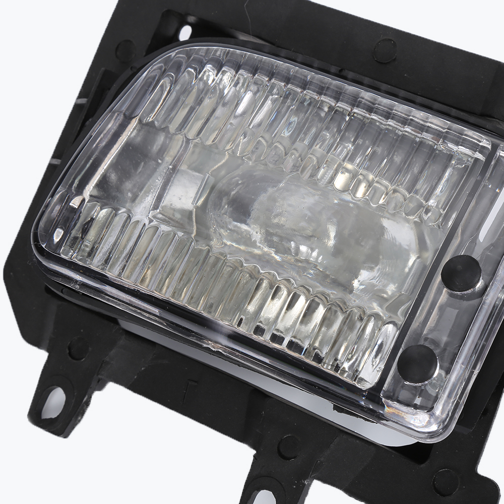 100% Brand New High Quality 2 PCS Economic Used For BMW E30 3-Series 85-93 Front Bumper Clear Fog Lights Plastic Lens pair new high quality front fog lamp lights driving lamps clear lens car styling for bmw e39 5 series 2001 2003