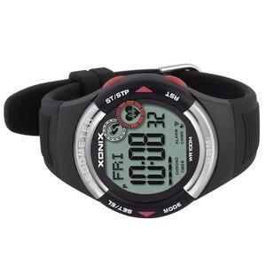 Image 5 - חם!! מד צעדים קצב לב צג קלוריות BMI גברים ספורט שעונים עמיד למים 100m נשים דיגיטלי שעון ריצה צלילה שעוני יד