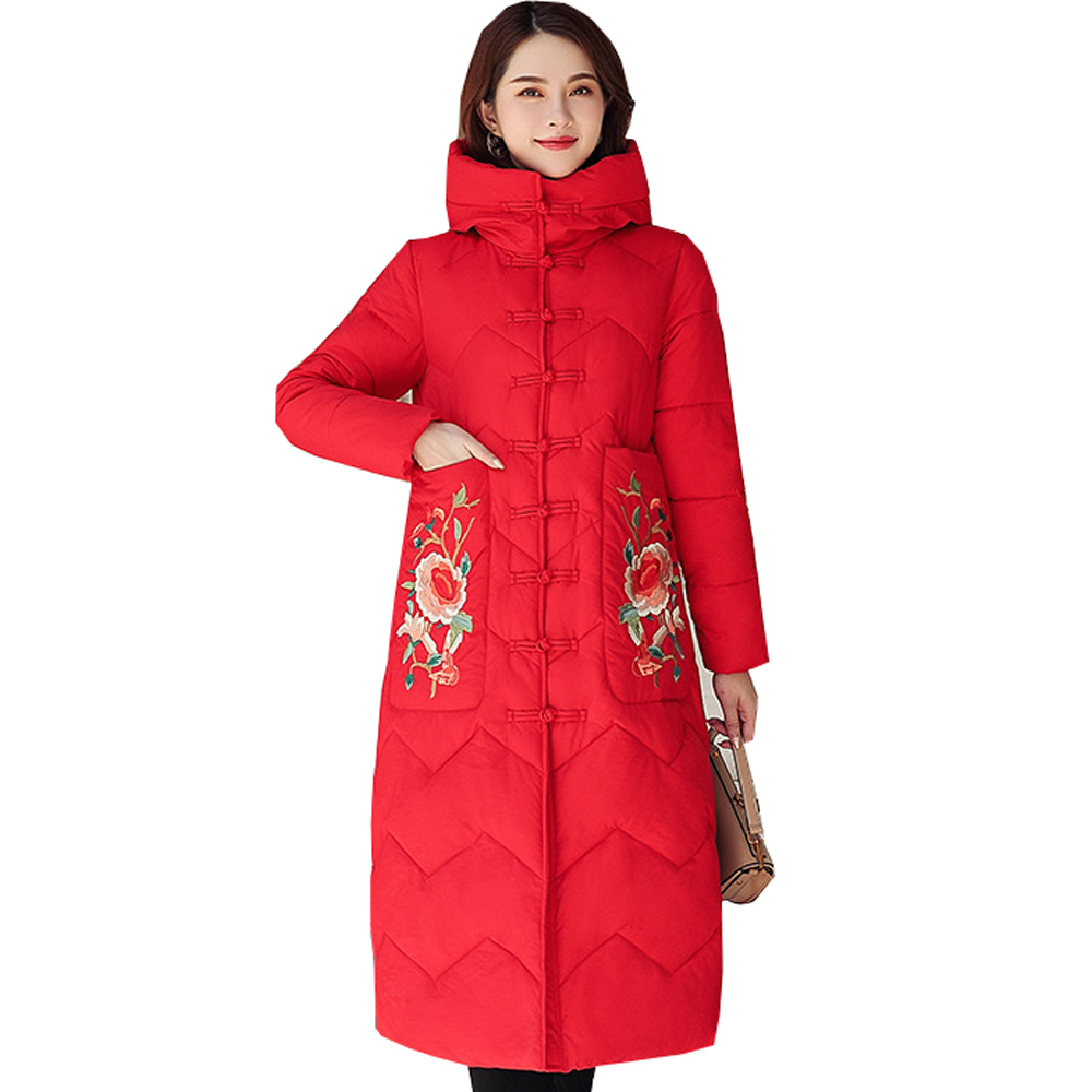 Hot sale Winter Jacket Women thick Snow down women's New Chinese Winter jacket slim down jacket down   parka   woman 6903
