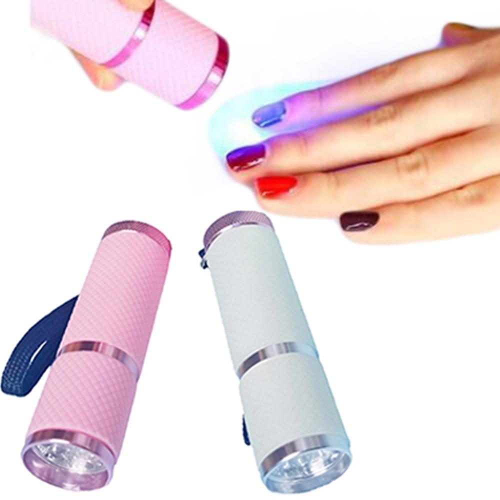 Mini DIY Gel nagel kunst polnisch Led lampe Trockner Led ...