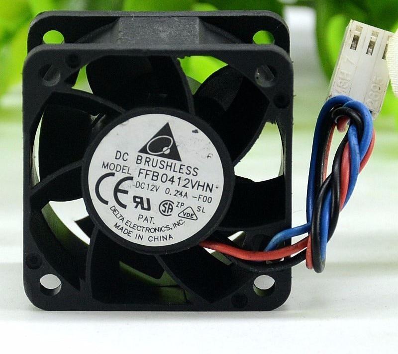 Delta FFB0412VHN 4028 40*40*28MM 4CM DC 12V 0.24A 3-Pin Server Cooling Fan