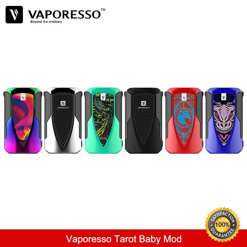 In Stock Vaporesso Tarot Baby TC Box Mod 85W 2500mAh Fit for NRG SE Vape Tank Vaper Vaporizer E-Cigarette Vs Revenger Vape Mods