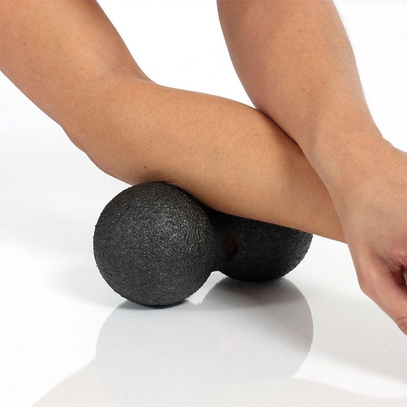 @1  16   8 см EPP Лакросс Мяч Фитнес-Массаж Шары Арахис Терапия Тренажерный Зал Расслабляющие Упражнения ①