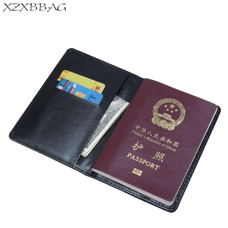 Xzxbbag Russische Pu Leder Reisepass Tasche Unisex Passport Fall Schutzhülle Männer Frauen Pässe Deckt Card Heller Glanz Gepäck & Taschen Geldbörsen & Halter
