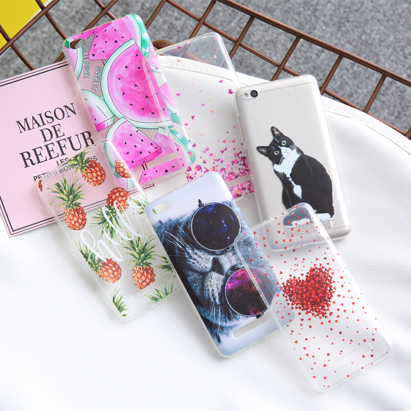 THREE-DIAO Painting TPU Case For Xiaomi Redmi 4X Note 4X 4 Pro 5A 3S Soft Back Cover For Xiaomi Mi Mix Phone Cases Conque Fundas