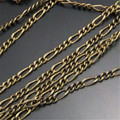 5M Antique Style Bronze Necklace Jewellry Chain Finding Retro Pendant Accessories 5*2MM