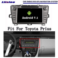 Liislee Android 7 1 2G RAM Car For Toyota Prius LHD Radio Audio Video Multimedia DVD