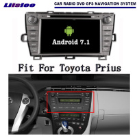 Liislee Android 7.1 2G RAM Car For Toyota Prius LHD Radio Audio Video Multimedia DVD Player WIFI DVR GPS Navi Navigation