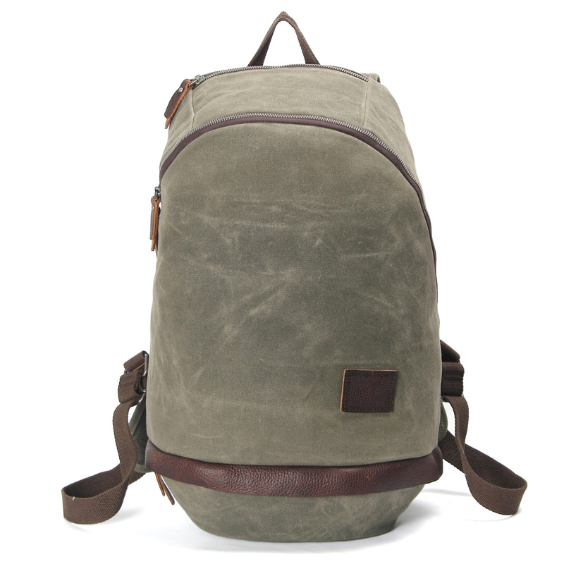 Army Green Large Capacity Laptop School Backpacks Men's Canvas Backpack Boy Weekend Bags Double Shoulder Travel Bags H046 candy color canvas double buckle backpack women bag large capacity men backpacks laptop school travel rucsack mochila computer
