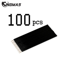 100 Pcs Disposable Eyeliner Cosmetic Brush Applicator Liner Combination