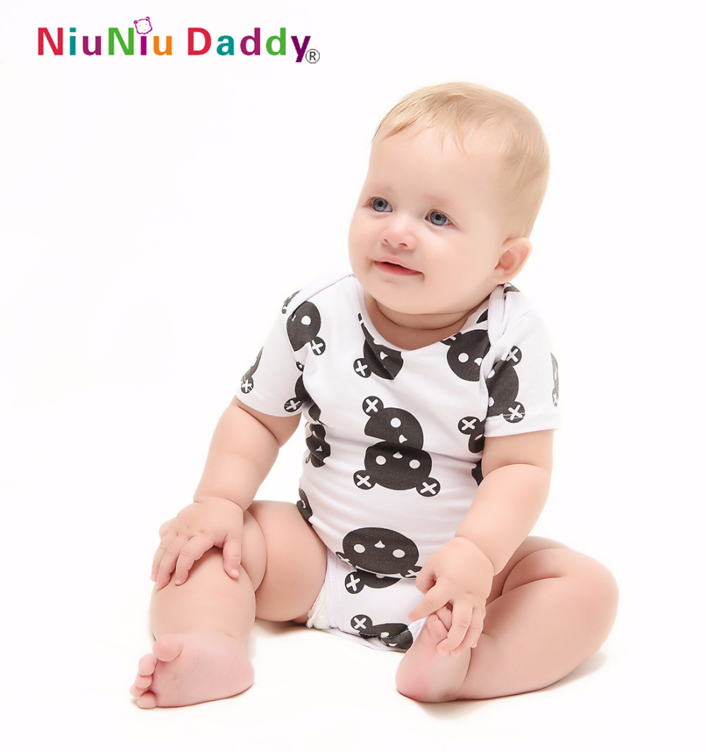 Baby Romper Short Sleeve Cotton Baby Boy Girl Clothes Baby Wear Jumpsuits Clothing Set Body Suits