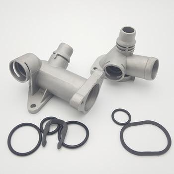 Aplicar para Passat B5 1,8 de 1,8 T de A6 motor culata de agua de cuatro vias sellado forma anillo de plastico aluminio 058 121 B 132