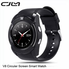 Bluetooth smart watch v8 smartwatch unterstützung sim tf karte anruf notification-kamera smart wearable electronics für android ios