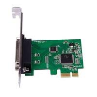 Nova Porta Paralela de Impressora LPT para PCI E Express Card Conversor Adaptador Win7 DB25|lpt port adapter|pci-e lpt|lpt pci-e -
