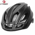 X-Tiger легкий велосипедный шлем гоночный велосипед Сверхлегкий шлем межгрольный литой Горный Дорожный велосипедный шлем MTB безопасный