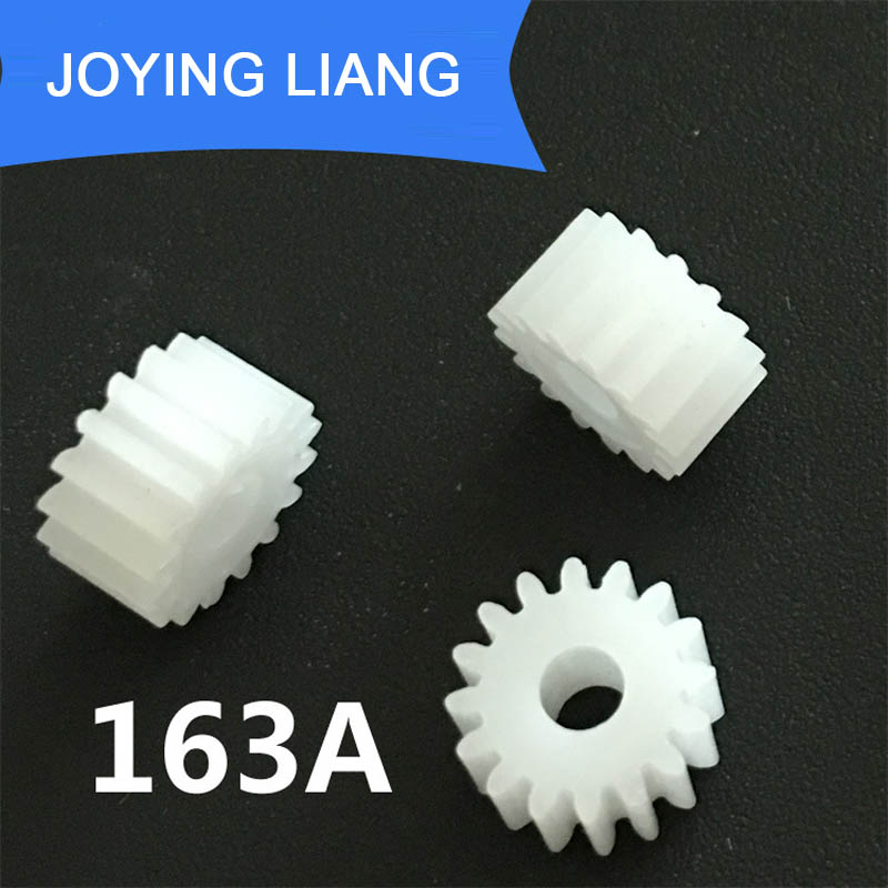 163A 0.5M Gears Modulus 0.5 16 Teeth Plastic Gear Motor Motor Roller Toy Accessories 10pcs/lot