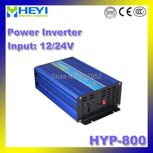 12V/24V Inverter HYP-800 800W dc ac inverter 50/60Hz Low work noise Power Inverter Pure sine wave