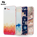 Benks 3D Relief Painting Craft Soft TPU Case Cover for iPhone 7 7 plus Phone Luxury Cute Cat Printing Embossing Coque Back Bag