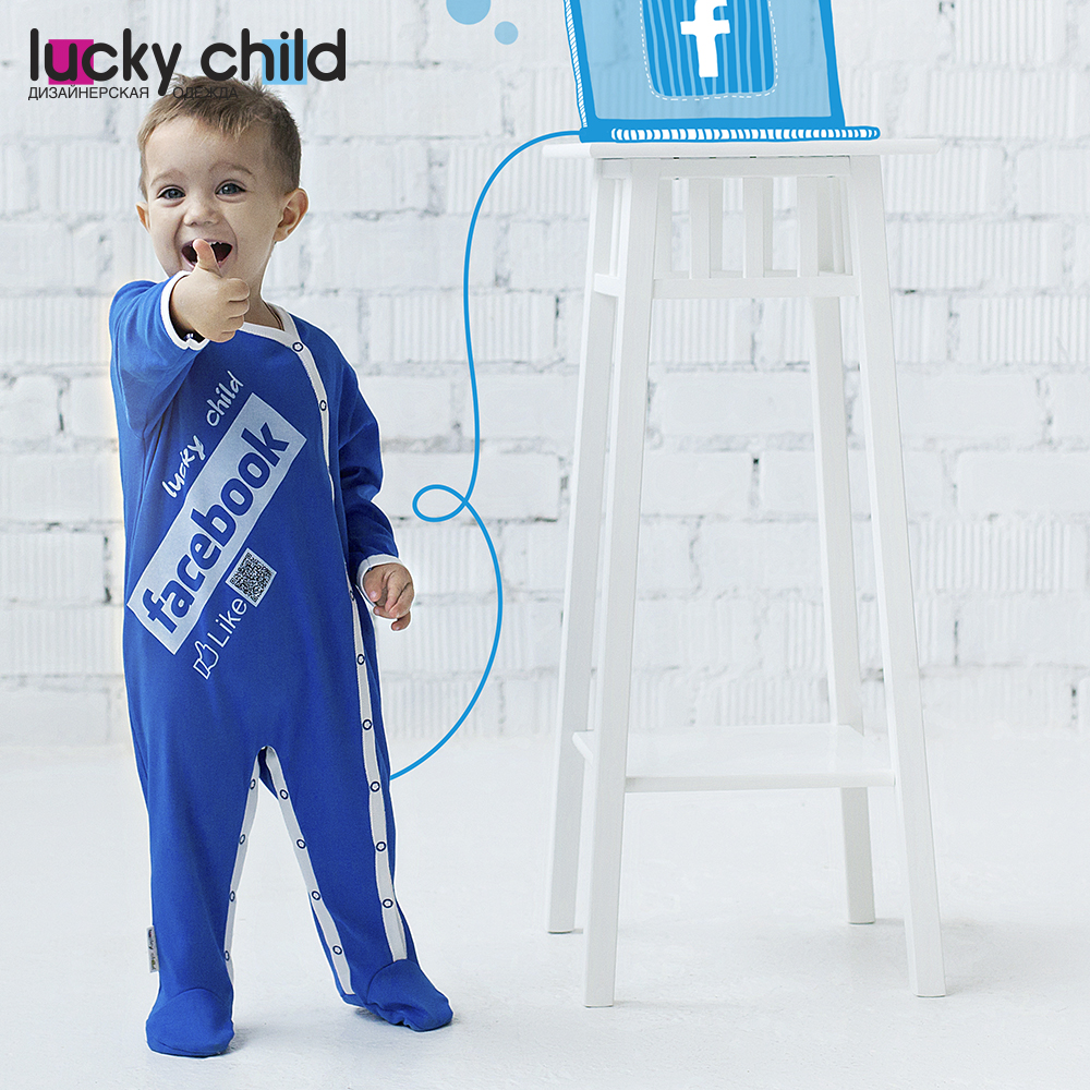 Jumpsuit Lucky Child for boys 9-161 Children's clothes kids Rompers for baby