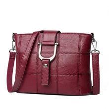 225f880c75fe Женская сумка-мессенджер из качественной искусственной кожи с клетчатым  узором женская сумка для покупок сумки